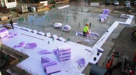 Erstellen der Bodenplatten